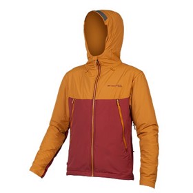 Endura Freezing Point Cykeljakke Orange Front