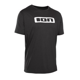 ION SS Logo T-Shirt Sort Front