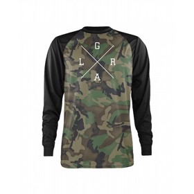 Loose Riders Thermal Jersey Forest Camo