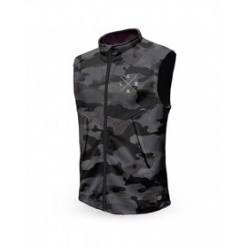 Loose Riders Thermal Vest charcoal Camo